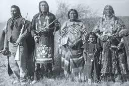Native American northern plains social group.